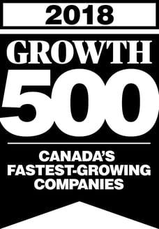 Growth 500 Logo 2018 Black