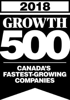 Growth 500 Logo 2018 Black
