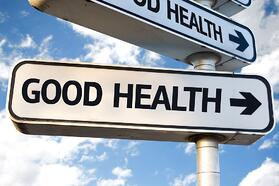 Good Health direction sign on sky background.jpeg