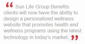Sun Life Press Release Quote